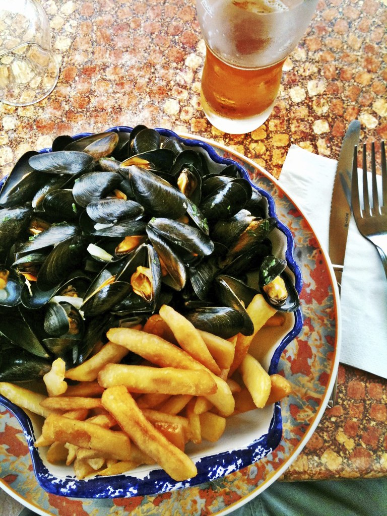 ANNULE : Moules frites