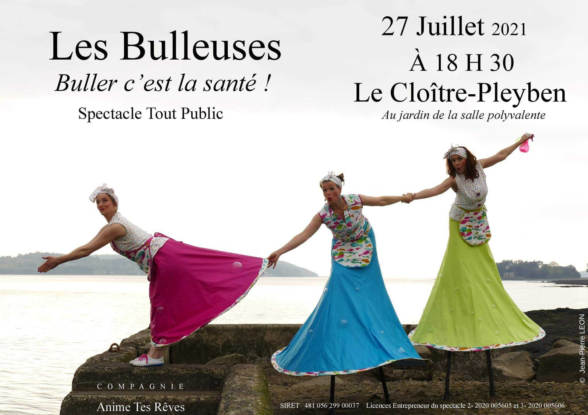 """Spectacle """" Les bulleuse"""""""