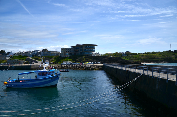 Le Conquet port embarcadere parking