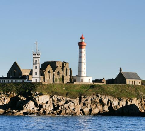 Le phare de Saint-Mathieu