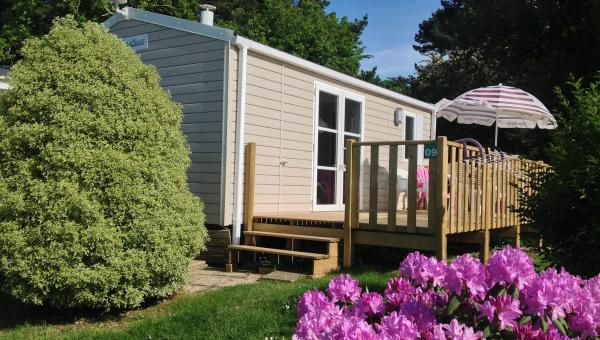Mobil 4 pers 2 chambres : Lodge 64  - Camping de Gouelet Ker